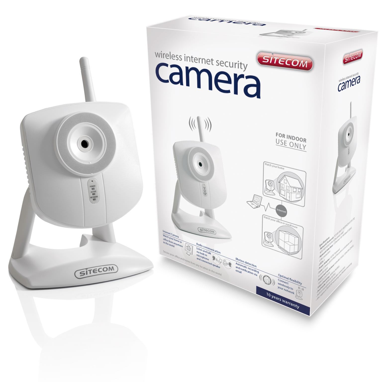 Nuove Internet Security IP Camera da Sitecom - errata corrige: prezzi corretti